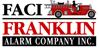 Franklin Alarm Company Inc. (FACI) · Engineered Fire Alarm Specialist Logo