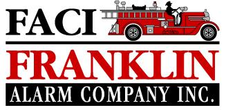 Franklin Alarm Company Inc. (FACI) · Engineered Fire Alarm Specialist Logo